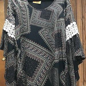 Bohemian vibe tunic dress